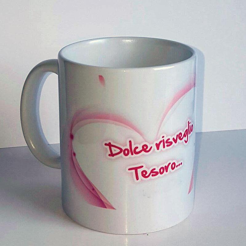 """Tazza """"Dolce risveglio tesoro"""""""